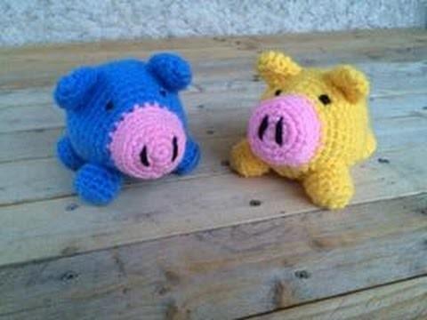 Cochon amigurumi crochet DIY partie 2