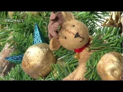 DIY  Noël : une couronne de Noël naturelle
