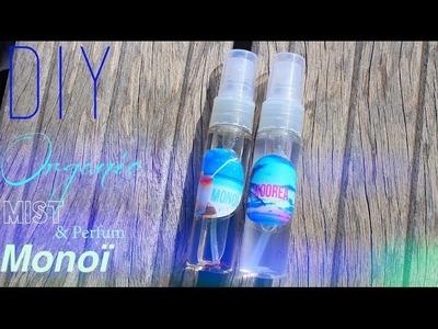 DIY - TUTO : BRUME CORPORELLE BIO MONOÏ OU PARFUM - Body Spray Mist Perfum Monoï english subs