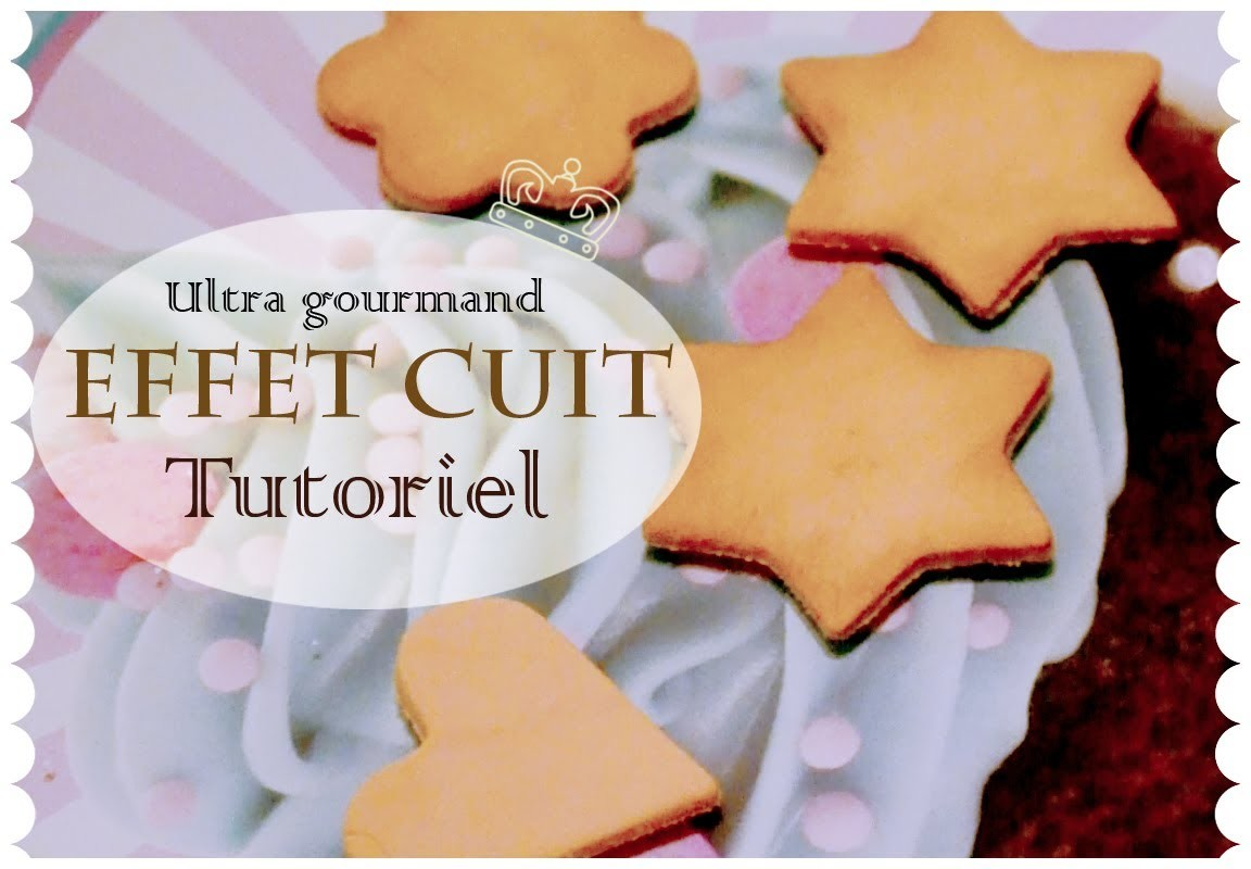 Effet cuit sur vos créations. Effect on polymer clay cooked