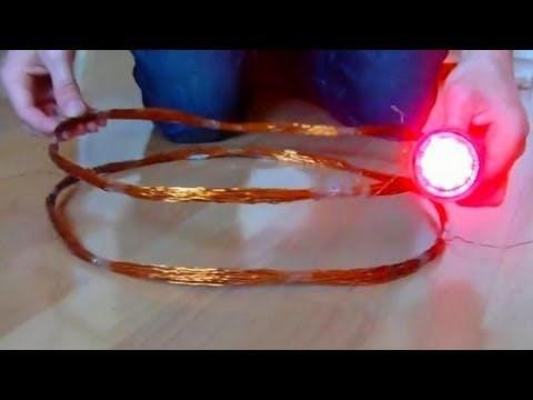 Energie sans fil : Incroyables Expériences [60] Wireless power . Energie sans fil. Witricity. DIY