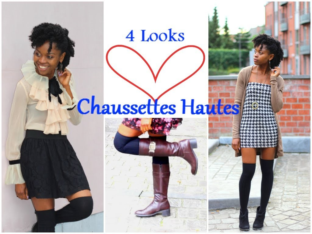 ☆ How I Style | Chaussettes Hautes ☆