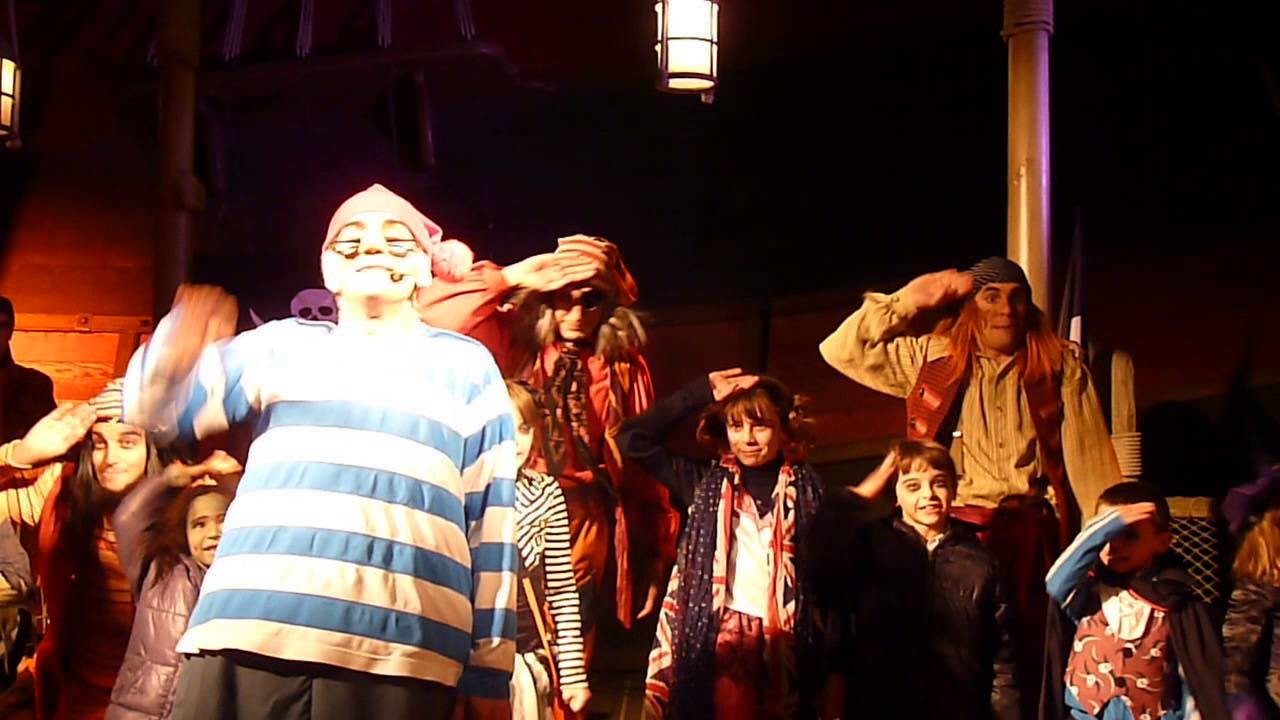 La Pirate Académie du Capitaine Crochet Disneyland Paris Halloween