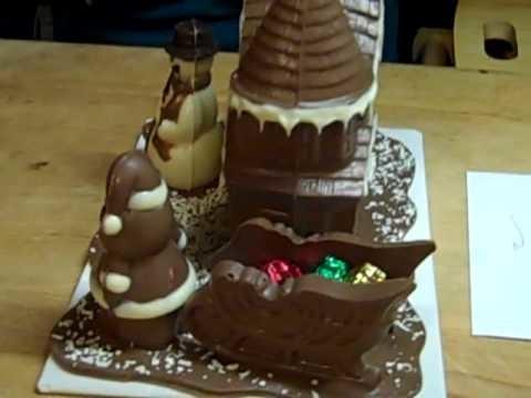 Maison en chocolat chocolate house