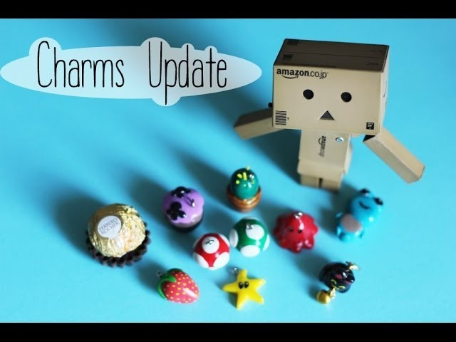 Mes nouvelles créations fimo (mai 2014). polymer clay charms update