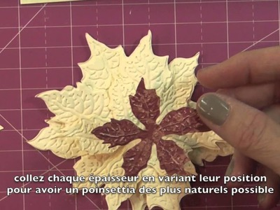 OTF: Embossed Poinsettia Cards