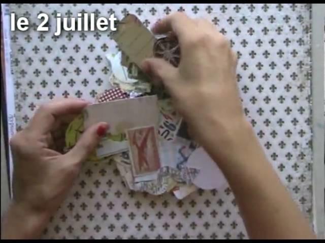 Scrapbooking - les 90 Die Cuts du Kit Scrapbooking de Juillet