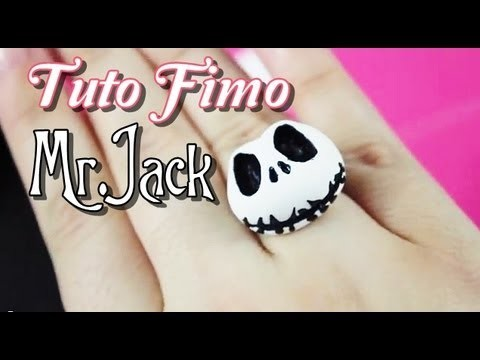 [TUTO FIMO] #2 Mr.Jack. -Tutorial Polymer Clay ♥