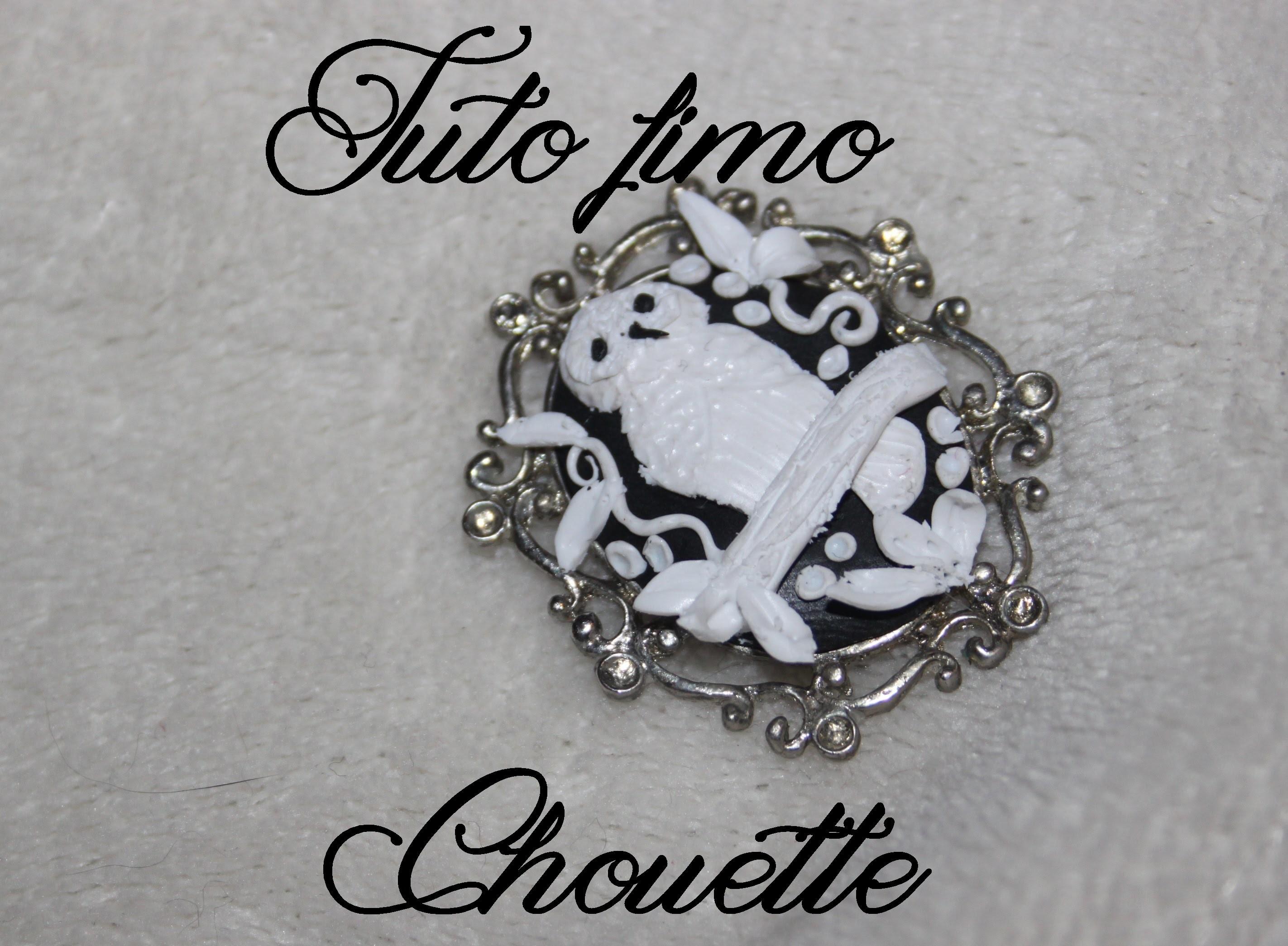 [♥ Tuto Fimo camé chouette ♥]  ✿ Polymer clay cameo owl ✿