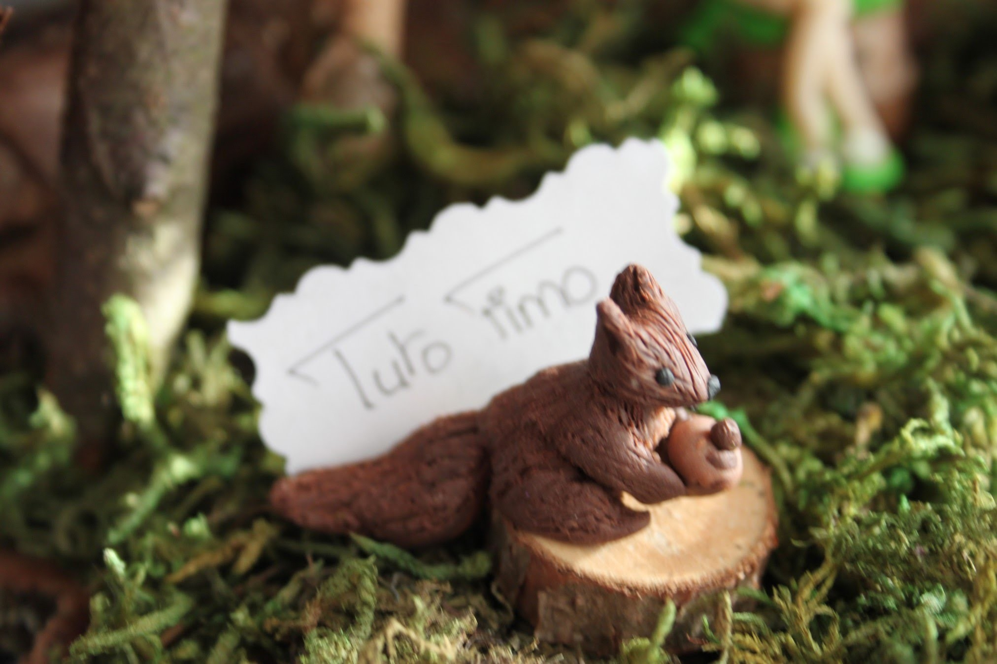 [♥✿ Tuto Fimo : Écureuil ✿♥] ~ [♥✿ Polymer Clay Tutorial : Squirrel ✿♥]