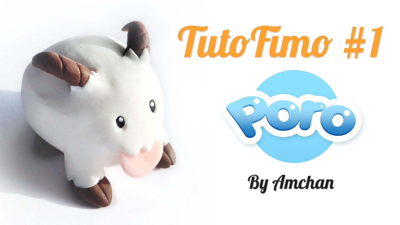 Tuto Fimo - Poro de League of Legends  (Polymer Clay Tutorial)