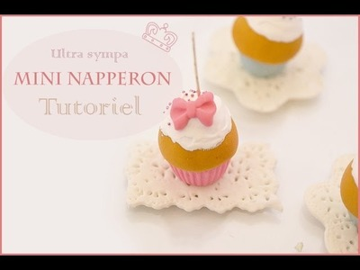 Tutoriel mini napperon porcelaine froide. Doily tutorial polymer clay