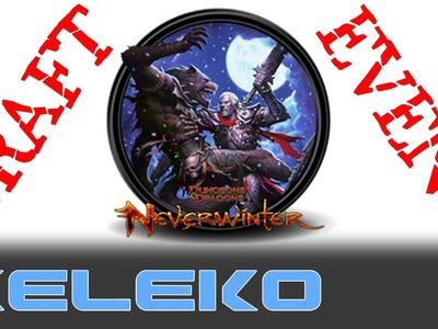 4.4 Craft & Event Dungeons & dragons Neverwinter online Gameplay découverte
