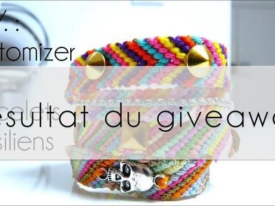 """Annonce + Résultat du giveaway """"bracelets brésilien"""""""