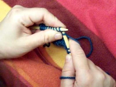 Apprendre à tricoter : les rangs raccourcis