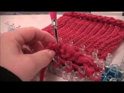 Bonnet avec le métier à tisser Rainbow Loom