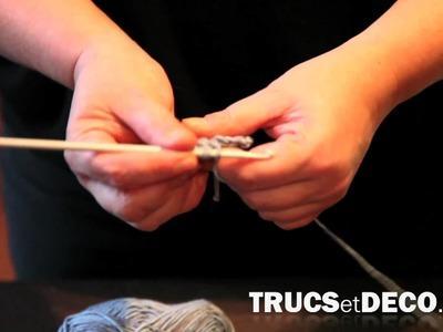 Bride rabattue en crochet - Tutoriel par trucsetdeco.com