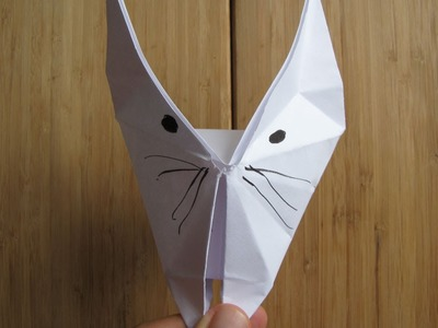 Comment faire un chat en origami (papier)