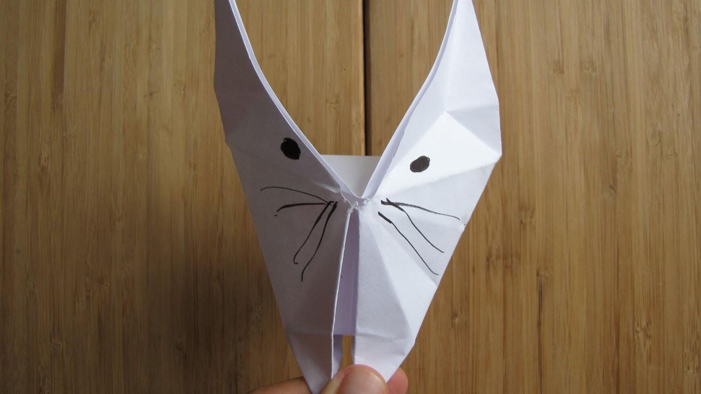 Comment faire un chat en origami (papier)