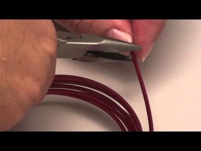 Décorations avec du fil d'alu