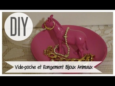 DIY #25 ❤ Vide-poche et Rangement Bijoux Animaux. DIY Animal Jewelry Storage ❤