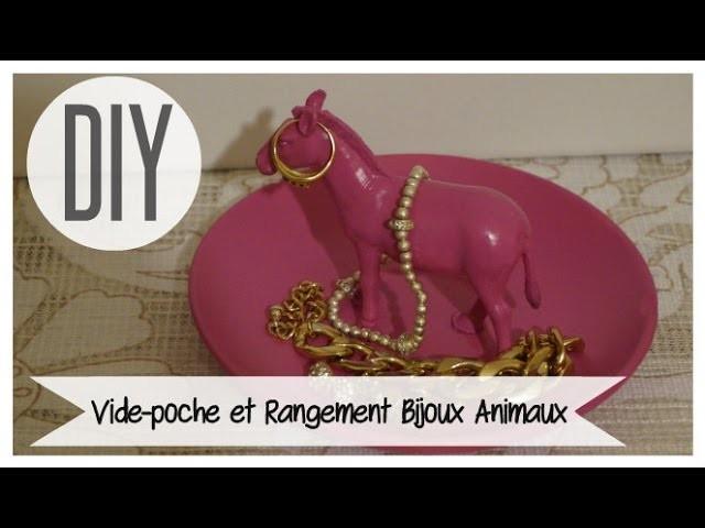 DIY #25 ❤ Vide-poche et Rangement Bijoux Animaux. DIY Animal Jewelry Storage ❤