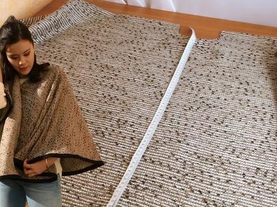 DIY Couture - Réaliser un Poncho | Cecile