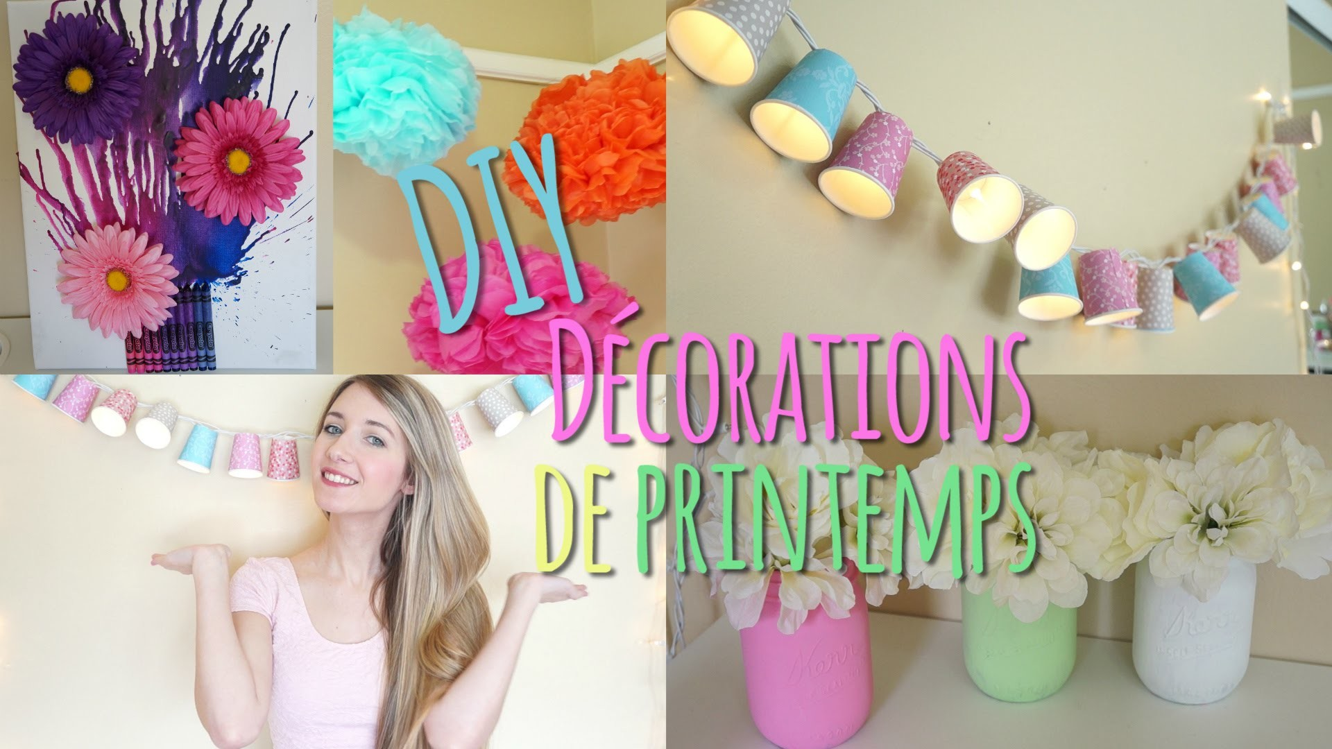 DIY Décorations de Printemps ☼