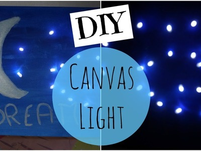 DIY ❤ Tableau Lumineux. DIY Canvas Light ❤