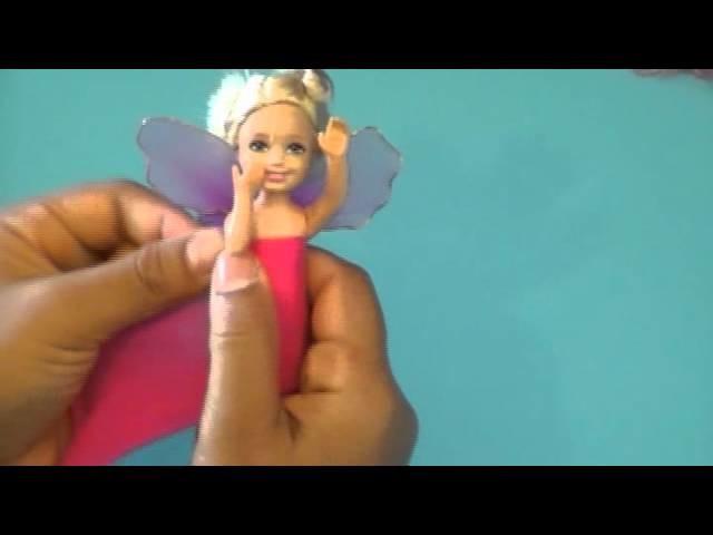 Fabrication d'un habit de poupée en collant. Doll's Nylon Dress