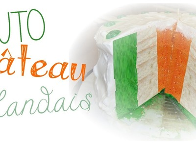 Irish Flag Cake l Polymer clay Fimo miniature tutorial