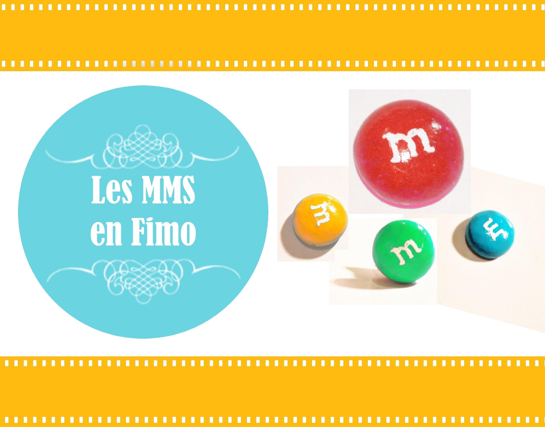 ❤ Les M&M's en Fimo. M&M's polymer clay ❤