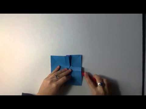 "MUST WATCH THIS ""HD. TUTO: Faire un noeud """"ruban"""" en origami - Make a knot """"ribbon"""" origami"""