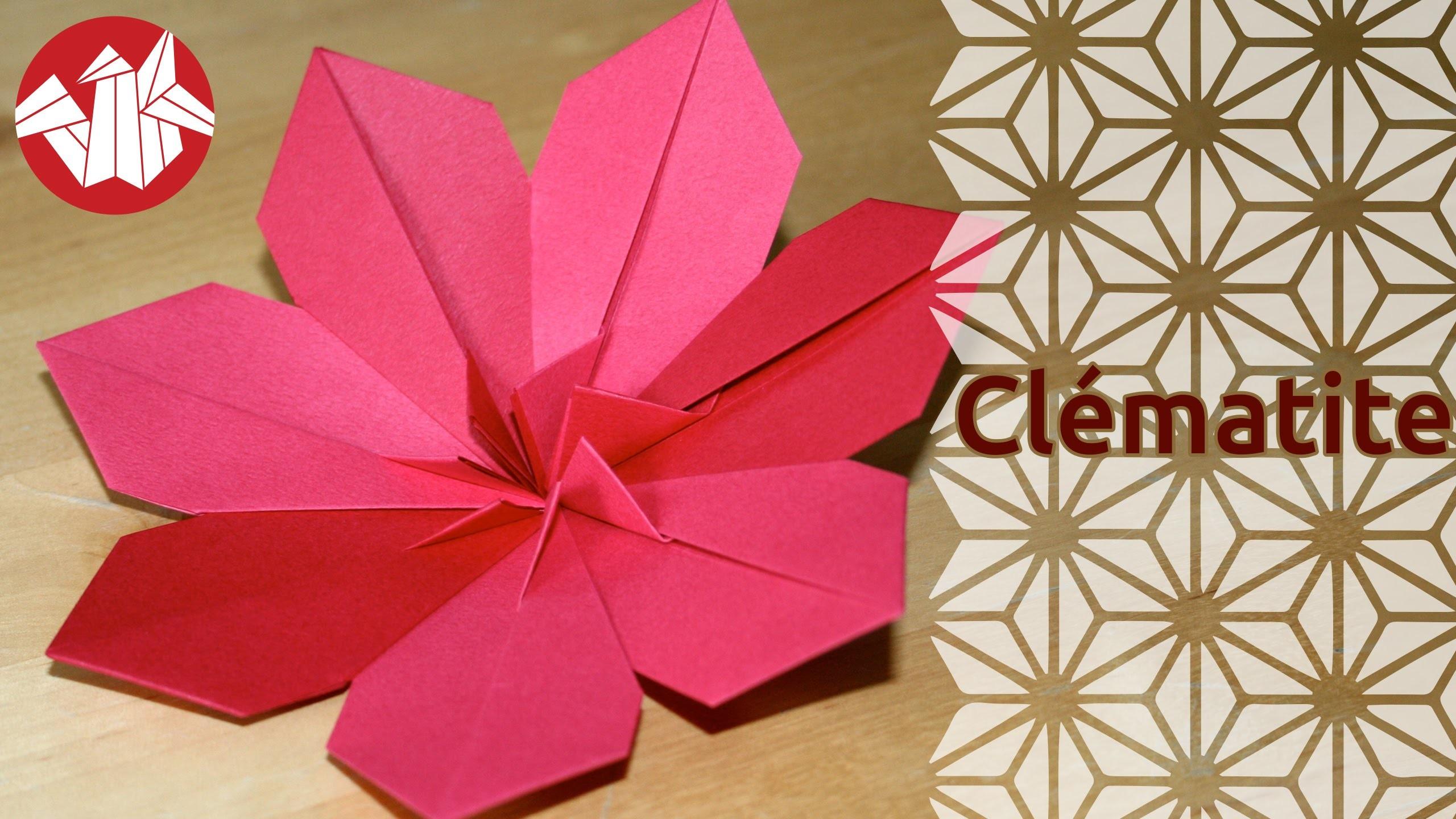 origami cl matite clematis senbazuru. Black Bedroom Furniture Sets. Home Design Ideas