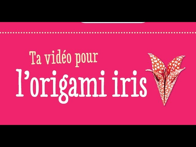 Origami : fleur d'iris étape par étape - Julie Kokeshi