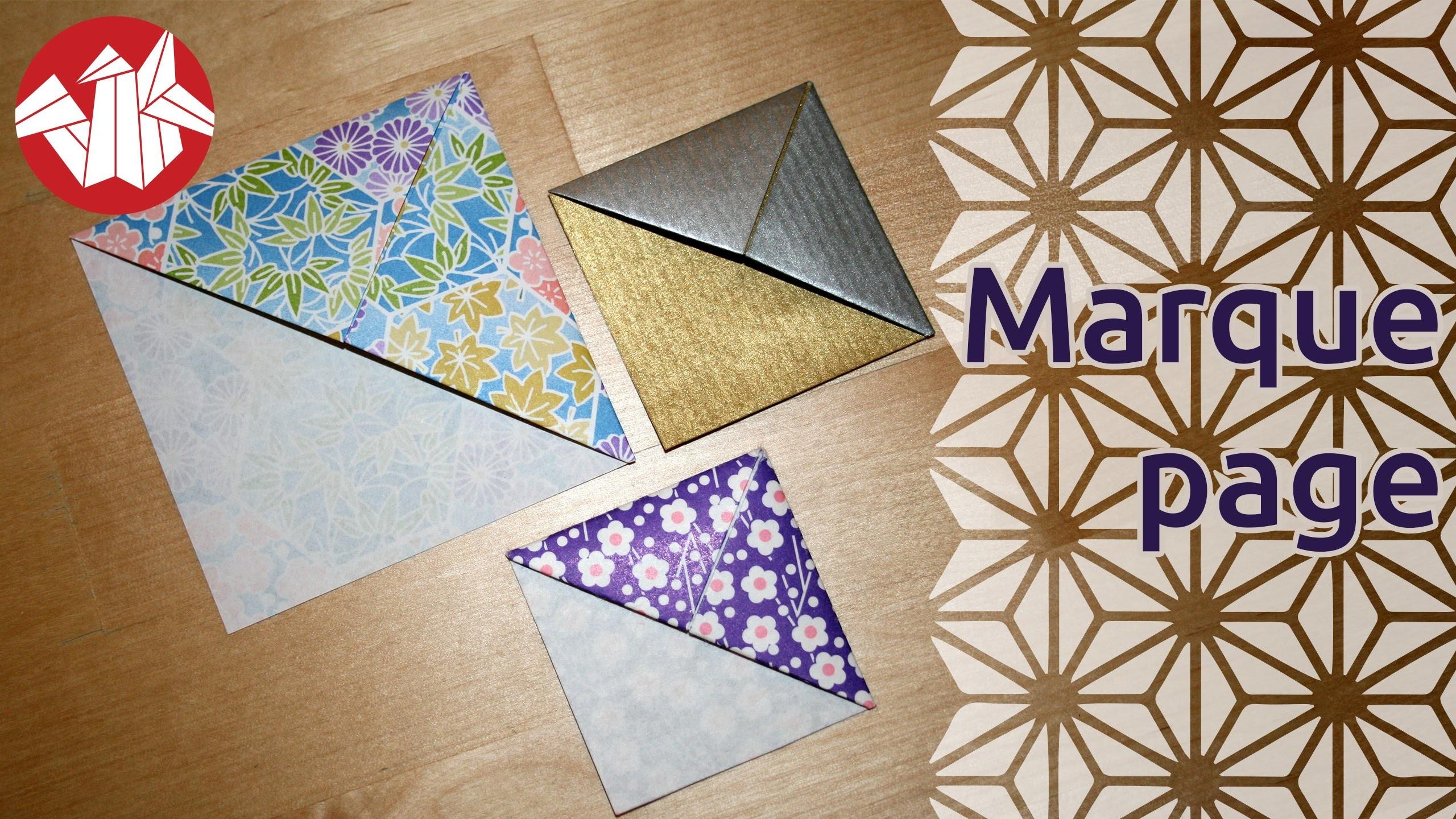 Origami - Marque-page - Bookmark [Senbazuru]