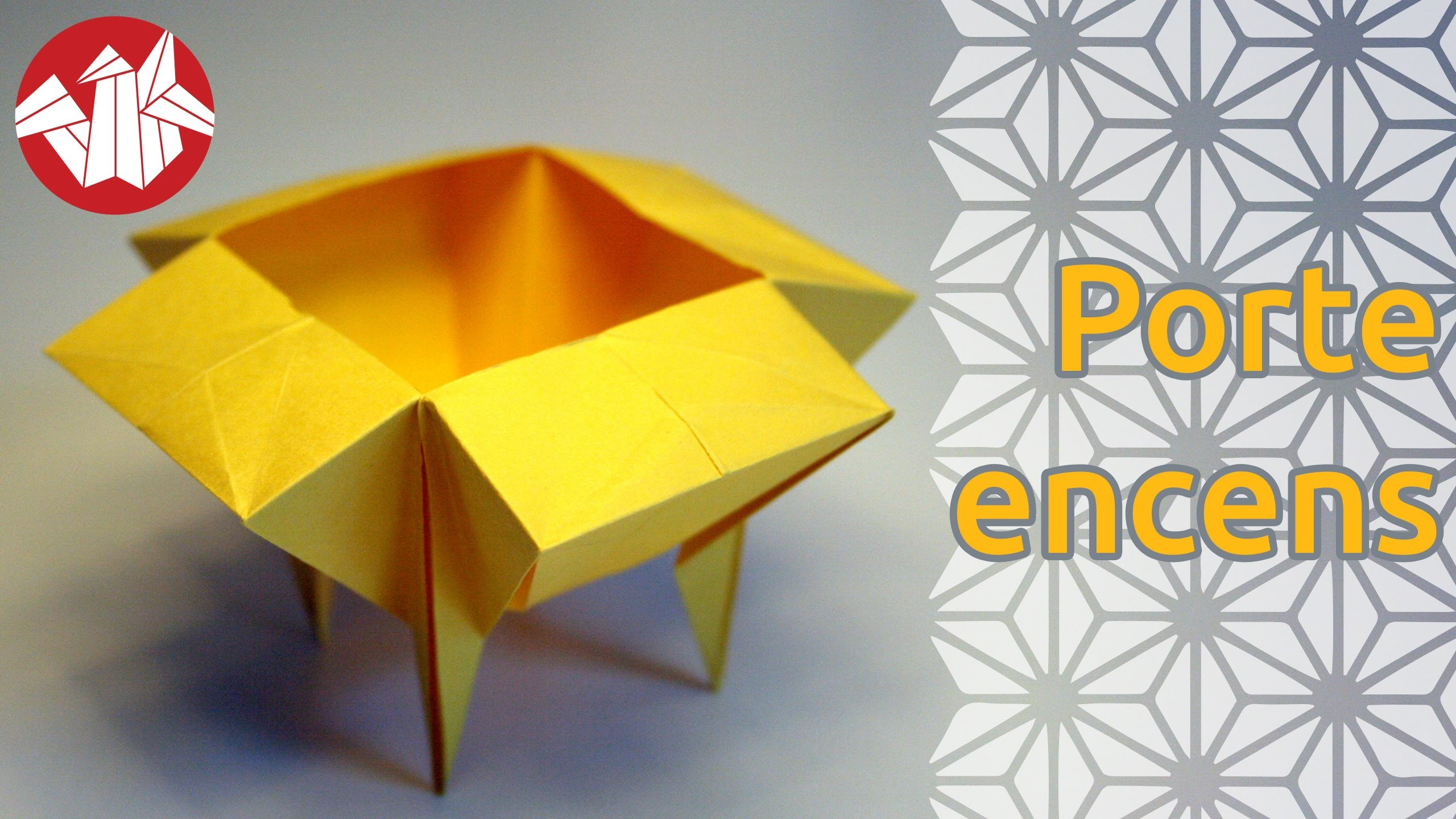 Origami - Porte encens - Incense Burner Dish [Senbazuru]