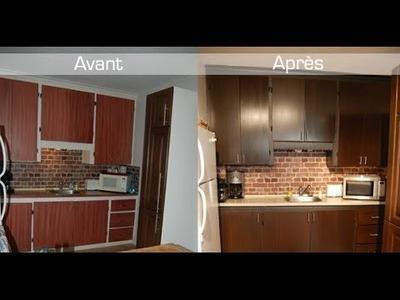 Technique de transformation d'armoires (ou meubles) à petit prix