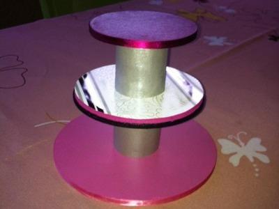 TUTO DIY - Cupcake stand - présentoir à gateaux.bijoux