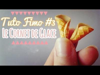 [TUTO FIMO] #3 Cornet de Glace. Tutorial Polymer Clay Cornet Ice ♥