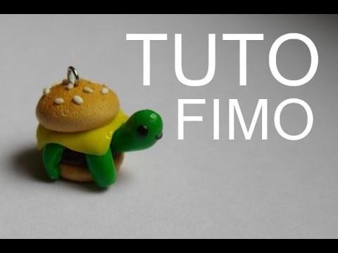 TUTO FIMO-La tortue kawaïï. polymer clay kawaii turtle