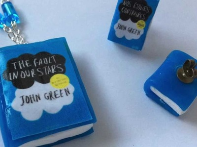 "Tuto fimo "" Nos étoiles contraires "". Polymer clay tutorial "" The Fault in our stars """