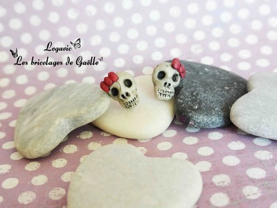 Tuto Fimo tete de mort monster high - monster high polymer clay tutorial