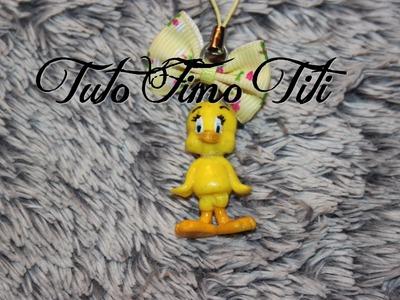 [♥ Tuto Fimo Titi ♥]  ✿ Polymer Clay Tutorial Tweety bird ✿