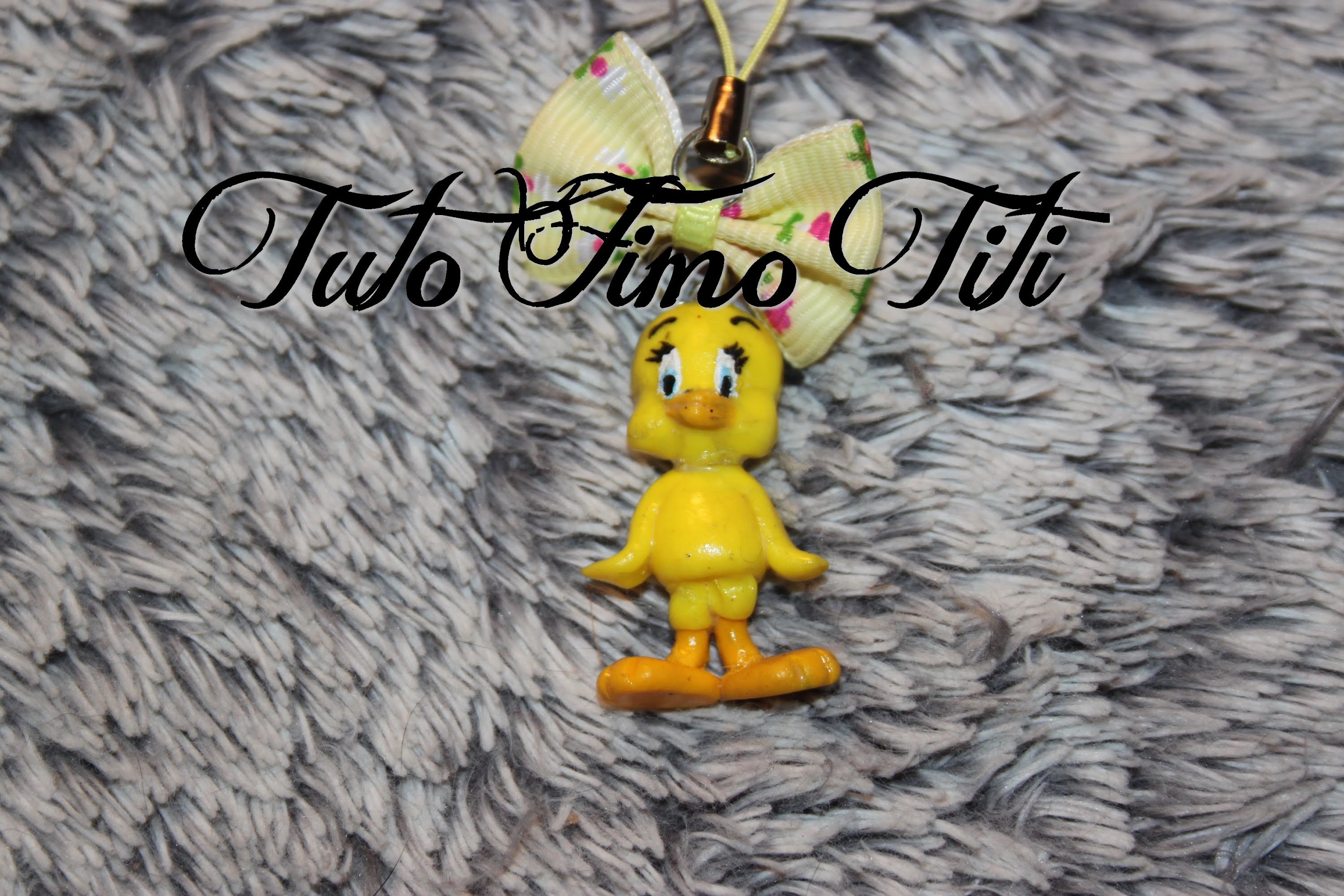 [♥ Tuto Fimo Titi ♥]  ✿ Polymer Clay Tutorial Tweety bird ✿