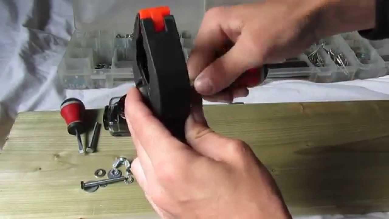 Tutorial : Faire un support caméra pour 2 €. DIY Make a camera support for 2$75