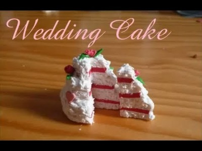 [Tutorial]  Wedding Cake. Gâteau de mariage en Fimo. Polymer clay