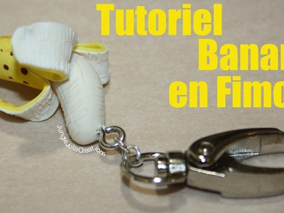 Tutoriel Banane en Fimo. Polymer clay Banana tutorial