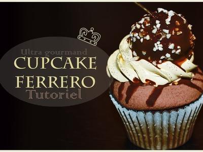 Tutoriel Cupcake ferrero. Cupcake Ferrero polymer clay