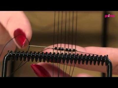 Tutoriel Perles & Co - Bracelet Manchette Tissée